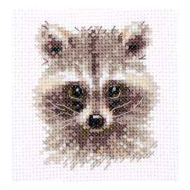 ANIMAL PORTRAITS. RACCOON S0-208 - ALISA