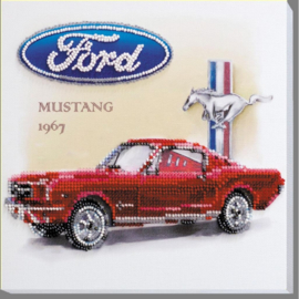 KRALEN BORDUURPAKKET FORD MUSTANG 1967 - ABRIS ART
