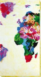 KRALEN BORDUURPAKKET WORLDMAP - ABRIS ART