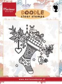 Marianne D Stempel Doodle - Kerstsok