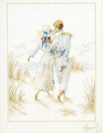 Romance - Romantisch Paar (linnen)