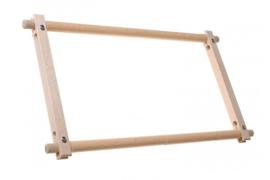 Borduurraam 38 x 30 hout EASYCLIP (buitenmaat 45 x 30)