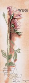Home and Garden - Botanisch Rosa (linnen)