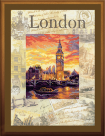 BORDUURPAKKET CITIES OF THE WORLD - LONDON - RIOLIS
