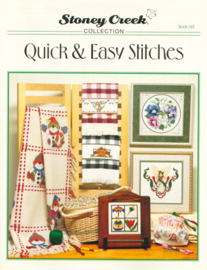 BORDUURPATROON  (booklet) QUICK & EASY STITCHES  - STONEY CREEK