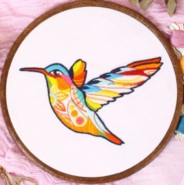 Hummingbird - Embroidery (Kolibri)