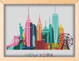 BORDUURPAKKET SKYLINE NEW YORK 351 VANAF 10,95