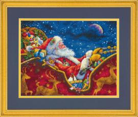 SANTA MIDNIGHT RIDE  - Dimensions (GOLD collection)