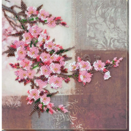 KRALEN BORDUURPAKKET SAKURA FLOWER - ABRIS ART