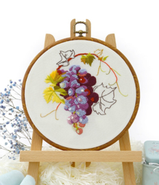 Grapes - Embroidery (Druiven)