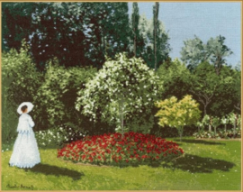 WOMAN IN THE GARDEN SAINTE-ADRESSE S/MK051
