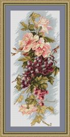 BORDUURPAKKET COMPOSITION WITH GRAPES - LUCA-S 17 x 39 cm