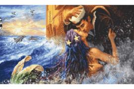 Borduurpakket LETI 940 Mermaids Kiss