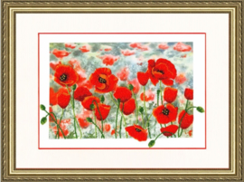 KRALEN BORDUURPAKKET POPPY MEADOW S/RT076