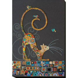 KRALEN BORDUURPAKKET KITTY - ABRIS ART