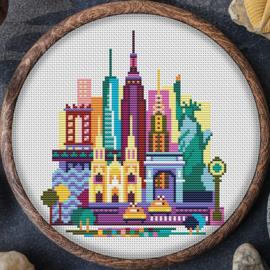 BORDUURPAKKET NEW YORK CITY 078 VANAF 10,95