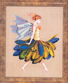 BORDUURPATROON THE FEATHER FAIRY - MIRABILIA DESIGNS
