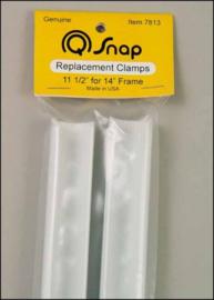 Q-Snap 14 inch reserve paar (klemmen)