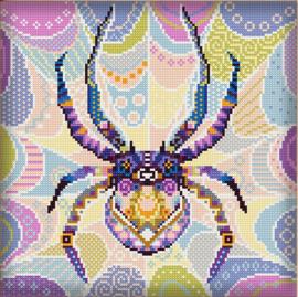 Diamond painting MANDALA Insecten SPIN