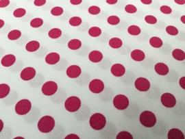 Dots rose 50 x 55 cm 100% katoen