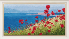 SUMMER, SEA, POPPIES S1028 - OVEN