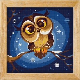 Diamond painting MANDALA FUNNY ANIMALS NIGHT STALKER