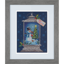 SNOWMAN LANTERN  - Dimensions (GOLD collection)