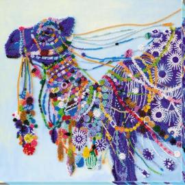 KRALEN BORDUURPAKKET  CAMEL - ABRIS ART