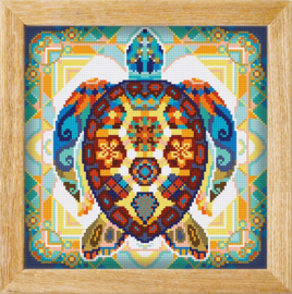 Diamond painting MANDALA Waterdier SCHILDPAD