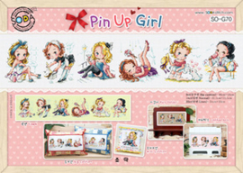 BORDUURPAKKET PIN UP GIRLS  - TSC