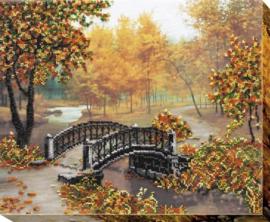 KRALEN BORDUURPAKKET AUTUMN GOLD - ABRIS ART