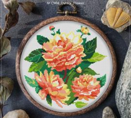 BORDUURPAKKET DALHIA FLOWERS - C968 VANAF 10,95