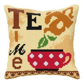KRUISSTEEK KUSSEN ORCHIDEA - TEA