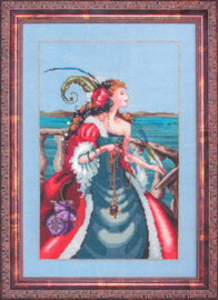 BORDUURPATROON THE RED LADY PIRATE - MIRABILIA DESIGNS