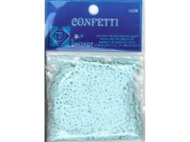 Confetti blauw of rose baby