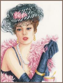 Romance - Elegante Dame (linnen)