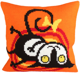 Borduurpakket ESCAPED CAT  - Collection d'Art