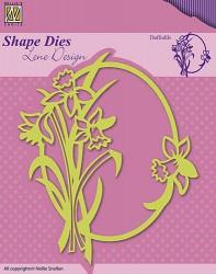 Nellie Snellen shape die Narcissen SDL018