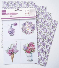 Marianne Design Perfumed paper lilac 16x27 cm