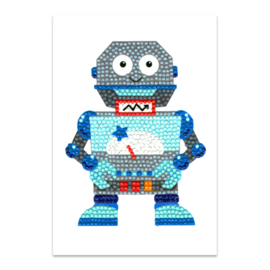 DIAMOND PAINTING KAART - MISTER ROBOT - CRAFT ARTIST