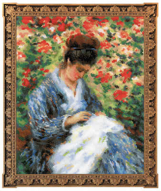PREMIUM COLLECTIE RIOLIS - CAMILLE MONET AFTER C.MONET'S PAINTING