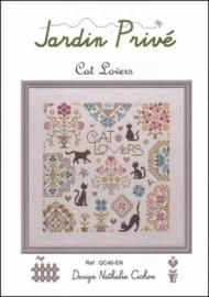 Cat Lovers - Jardin Prive  - Katten liefhebbers