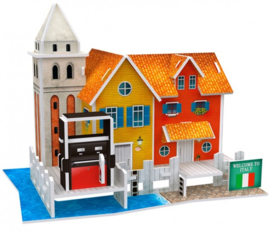3D Puzzel POMPSTATION VENETIË ITALIË
