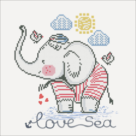 DIAMOND DOTZ LOVE SEA - NEEDLEART WORLD