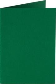 Papicolor dubbele kaart vierkant 13.2 cm kerstgroen 200gr pak/6 st
