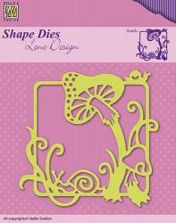 Nellie Snellen shape die Paddestoel SDL019