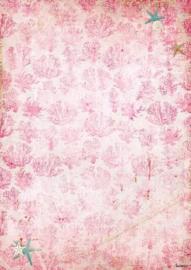 Studio Light Achtergrondpapier per stuk A4 Romantic Summer 221