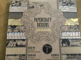Recycle papierblok papercraft mix & match