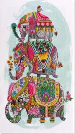 KRALEN BORDUURPAKKET 3 ELEPHANTS FOR LUCK - ABRIS ART