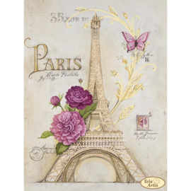Kralenborduurpakket FROM PARIS WITH LOVE - TELA ARTIS